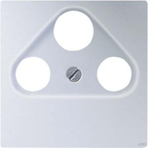 Jung Abdeckung aluminium für SAT-TV-Dose A 561 PLSAT AL