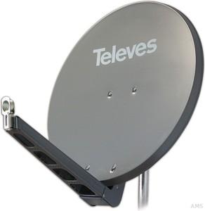 Preisner Televes QSD-Line Offset Reflektor 85x95cm Ral7011 S85QSD-G