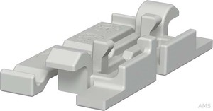 OBO Bettermann Oberteilklammer PVC,grau 2370 60 (20 Stück)