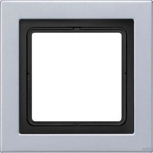 Jung Rahmen 1-fach aluminium waage/senkrecht ALD 2981