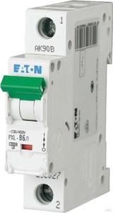 Eaton / Möller LS-Schalter mit Beschrift. B 6A, 1p PXL-B6/1