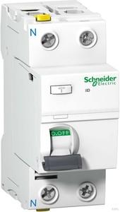 Schneider Electric FI-Schalter 2P 25A 30mA Typ A A9Z21225