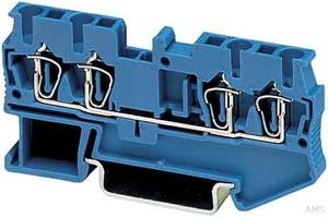 Phoenix Contact Durchgangsklemme 0,08-4qmm blau ST 2,5-QUATTRO-BU