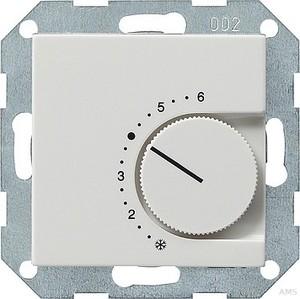 Gira 039603 Raumtemperaturregler 230 V Wechsler System 55 Reinweiß