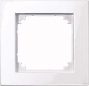 Merten M-PLAN-Rahmen 1-fach ws/glänzend 515125