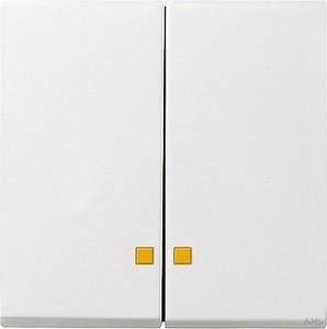 Gira 063103 Serienwippen Kontrollfenster System 55 Reinweiß glänzend