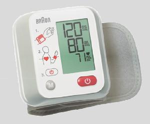 Braun BBP2000WE Blutdruckmessgerät Handgelenk