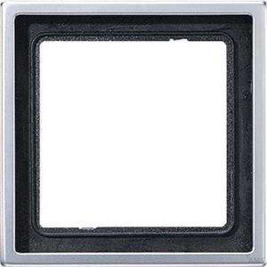 Jung Rahmen 1-fach aluminium waage/senkrecht AL 2981