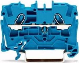 WAGO Durchgangsklemme 4qmm,blau,2-Leiter 2004-1204