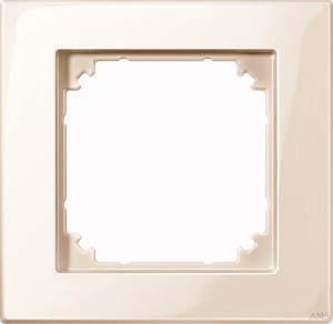Merten M-PLAN-Rahmen 1-fach ws/glänzend 515144