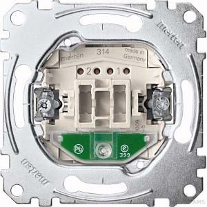 Merten Wechsel-Kontrollschalter 1-polig 10AX 250V AC MEG3106-0000
