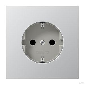 Jung SCHUKO-Steckdose aluminium AL1520 KI