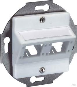 Reichle&De-Massari DIN Anschlussdose 50x50, 2Port weiss R306010