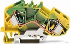 WAGO Schutzleiterklemme 0,2-16mmq gn/gelb 783-607