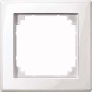 Merten Rahmen 1-fach polarweiß/glänzend 478119