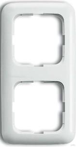 Busch-Jaeger Rahmen 2-fach alpinweiß (aws) senkr. und waagerecht 2512-214