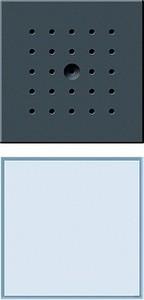 Gira 126067 Türstation unterputz 1fach TX_44 (wassergeschützt unterputz) Anthrazit