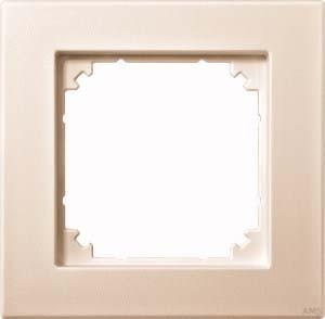 Merten Rahmen 1-fach cremeweiß (ws) 486144