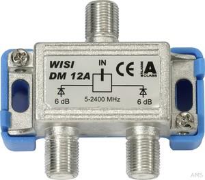 Wisi Verteiler 2-fach 5-2400MHz, 6dB DM 12 A