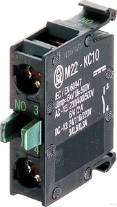 Eaton / Möller Kontaktelement 1S, Boden M22-KC10