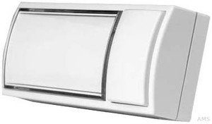 Grothe Klingeltaster AP 32x90x18,5mm, cremeweiß (ws) MONTILUX 2154