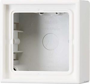 Jung AP-Kappe 1-fach cremeweiß (ws) angeformter Rahmen LS 581 A W