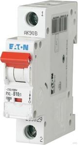 Eaton / Möller LS-Schalter mit Beschrift. B 10A, 1p PXL-B10/1