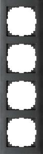 Merten Rahmen 4fach anthrazit MEG4040-3614