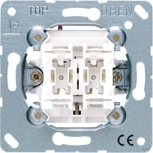 Jung Jalousie-Wipptaster 10AX 250V Tas. 1-polig 539 VU