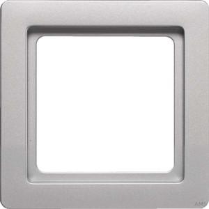 Berker Rahmen 1-fach aluminium lack 10116084