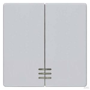 Siemens Wippe für Ser/Dop. Schalter Delta Vita, aluminium met 5TG6244