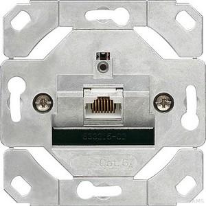 Gira 245100 Netzwerkdose 1fach Cat.6A IEEE 802.3an Einsatz