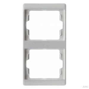 Berker Rahmen 2-fach polarweiß/glänzend 13230069