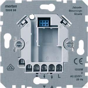 Merten Jalousiesteuerungs-Einsatz AC230V 1000W 580698