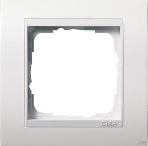 Gira 0211327 Abdeckrahmen 1fach für reinweiß Event Reinweiß matt glänzend