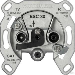 Kathrein SAT-Steckdose 3-fach Einzelanschlussdose ESC 30