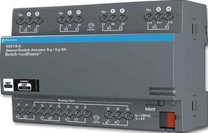 Busch-Jaeger Sensor/Schaltaktor 8/8-fach REG-Aktor 6251/8.8