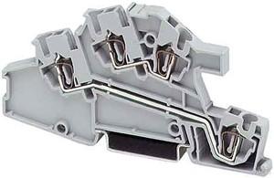 Phoenix Contact Zugfederklemme 0,08-4qmm B=5,2mm grau STI 2,5-L/L