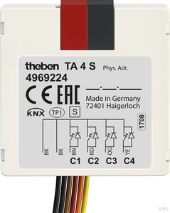 Theben Tasterschnittstelle 4 S KNX,UP TA 4 S KNX