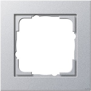 Gira 021125 Abdeckrahmen 1fach E2 Farbe Alu