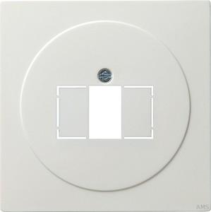 Gira 027640 Abdeckung TAE+Stereo+USB S Color Reinweiß