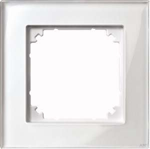 Merten Rahmen Glas 1-fach bril/ws 489119