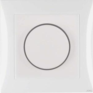Berker Drehdimmer polarweiß/glänzend mit Abdeckplatte 28198989