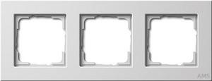 Gira 0213201 Abdeckrahmen 3fach E22 Reinweiß glänzend