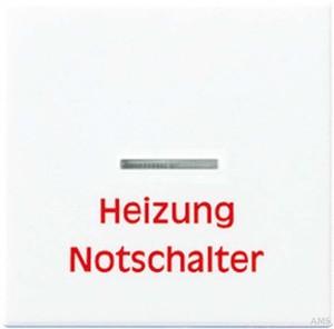 Jung Wippe Aufs. Heizung/Notsch. für Kontrollschalter A 590 H WW