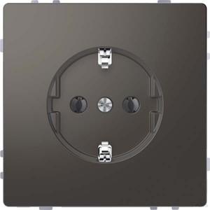 Merten SCHUKO-Steckdose anthrazit mit Steckklemmen MEG2301-6034