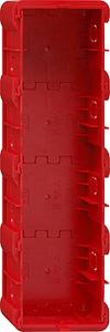 Gira 289400 Einbaudose 4fach Unterputz E22