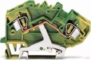 WAGO Schutzleiterklemme 0,2-6mmq gn/gelb 782-607