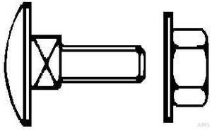 Niedax Schraube FLM 8 X 25 F (50 Stück)
