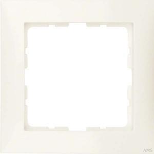 Berker Rahmen 1-fach ws/glänzend 10118982